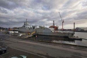 Na Uy tháo dỡ khinh hạm Helge Ingstad
