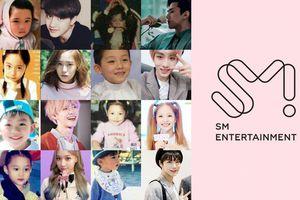 Idol SM đẹp từ trong trứng nước, Knet choáng toàn tập!