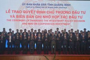Hội nghị xúc tiến đầu tư Quảng Bình 2021: Mời gọi hơn 90.000 tỷ đồng
