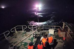 Cứu nạn tàu cá Phú Yên gặp sự cố trên biển