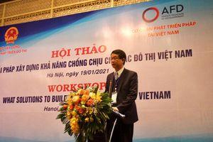 Giải pháp xây dựng khả năng chống chịu cho các đô thị Việt Nam