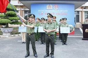 Tuổi trẻ Công an Bình Dương xuất quân tình nguyện