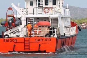 Nỗ lực tìm kiếm 7 ngư dân rơi xuống biển mất tích ngoài khơi Côn Đảo