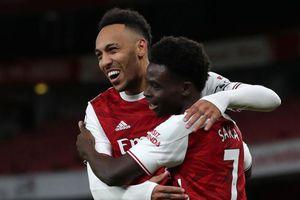 Aubameyang lập cú đúp, Arsenal 'đại thắng' Newcastle