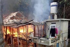 1 ngày xảy ra 2 vụ cháy nhà tại tỉnh Sơn La