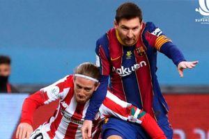 Nhận thẻ đỏ đầu tiên ở Barca, Messi có thể bị treo giò 12 trận