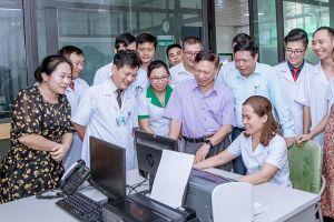 Bệnh viện Đa khoa Quang Khởi triển khai hiệu quả bệnh án điện tử