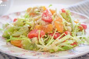 Bí quyết nuôi dưỡng làn da và giảm cân siêu tốc đón Tết chính là ăn món salad này mỗi ngày!