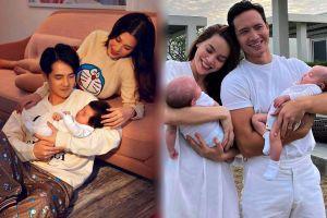 Nhóc tì nhà sao Việt chiếm spotlight ba mẹ khi lộ diện khiến fan 'rụng tim'