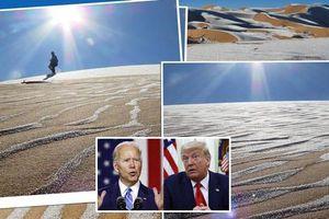 Tuyết rơi trên sa mạc Sahara trước Lễ Nhậm Chức Tổng thống Mỹ và một điều trùng hợp thú vị nữa