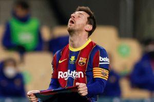 Barca kháng cáo án phạt của Messi