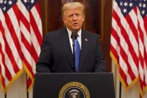 Ông Trump chia tay dân Mỹ, chúc người kế nhiệm may mắn
