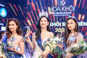 Tân Hoa khôi Sinh viên Việt Nam 2020 bật khóc khi được xướng tên