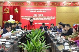 Quận Thanh Xuân: Mỗi tổ chức, cá nhân gắn với một địa chỉ nhân đạo