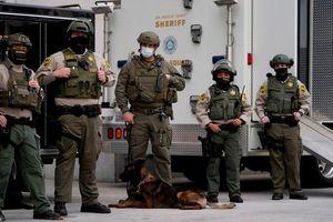Nam California tăng cường an ninh ngày Tổng thống Biden nhậm chức