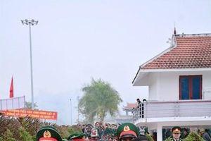 Điện Biên: Đón nhận, truy điệu và an táng 13 hài cốt liệt sĩ quân tình nguyện Việt Nam hy sinh tại Lào