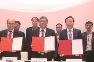 3 trường Đại học Bách khoa ký kết hợp tác