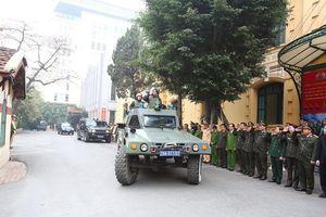 Hà Nội: Ra quân bảo đảm an ninh, an toàn phục vụ Đại hội XIII của Đảng