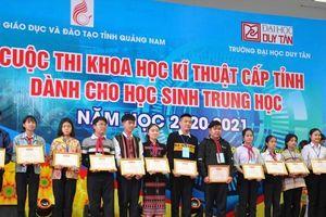 Học sinh Quảng Nam ứng dụng công nghệ vào thực tiễn cuộc sống