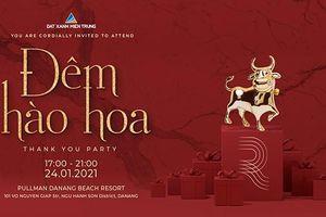 Đất Xanh Miền Trung tổ chức tiệc 'Đêm Hào Hoa' tri ân khách hàng năm 2020