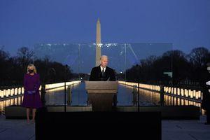 Tổng thống đắc cử Biden nhấn mạnh thảm kịch đau thương trước ngày nhậm chức