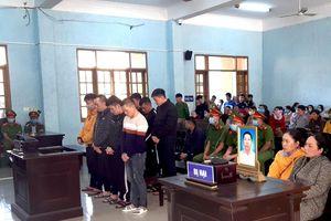 Tuyên án nhóm giang hồ bắt cóc, giết người ở Gia Lai