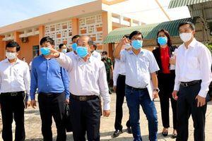 Thứ trưởng Bộ Y tế kiểm tra công tác phòng chống dịch tại Đồng Tháp