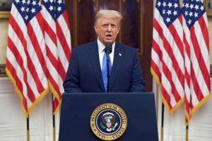 Tổng thống Trump gửi thông điệp chia tay tới người dân Mỹ