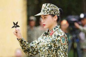 Loạt hình ảnh cực ngầu của Hoa hậu Kỳ Duyên trong 'Sao nhập ngũ'