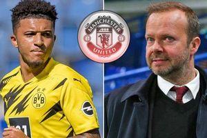 Jadon Sancho đàm phán rời Dortmund, MU được gọi tên
