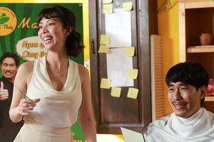 Thu Trang vào vai bà cô ế chồng kết hợp 'tay chơi' Kiều Minh Tuấn