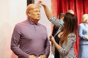 Tượng sáp Trump bị cho vào kho trước lễ nhậm chức của ông Biden