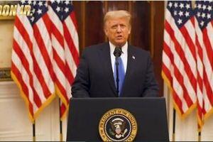 Ông Trump phát biểu từ biệt trước khi rời khỏi Nhà trắng