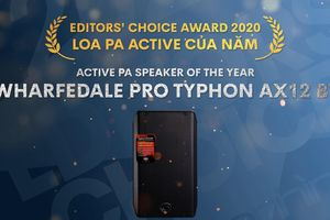 Editors' Choice Awards 2020 - Wharfedale Typhon AX12BT – Loa PA Active của năm