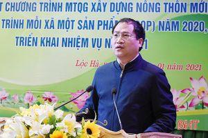 Bí thư Huyện ủy Lộc Hà: Làm nông thôn mới chắc chắn, không chạy theo thành tích