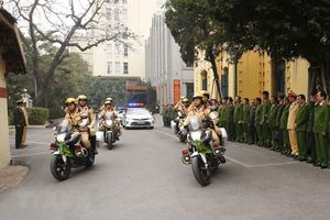 Công an Hà Nội đảm bảo an ninh, trật tự cho Đại hội XIII của Đảng