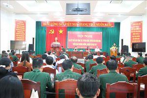 Tăng cường công tác tuyên huấn, tuyên giáo trong lực lượng vũ trang