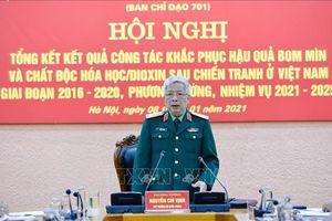 Công bố kết quả xử lý dioxin Hồ Cổng 2, sân bay Biên Hòa