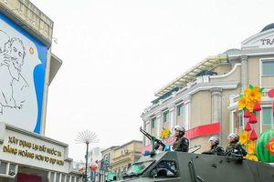 Công an Hà Nội ra quân bảo vệ Đại hội XIII của Đảng