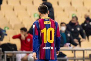 Messi bị treo giò 2 trận vì thẻ đỏ