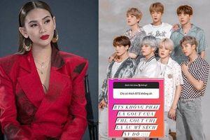 Võ Hoàng Yến trả lời thẳng thắn khi fan hỏi có thích BTS hay không?