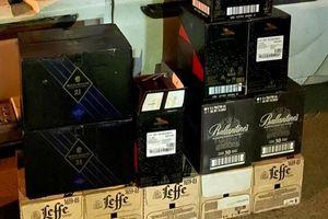 Phát hiện vụ vận chuyển gần 200 chai bia, rượu lậu từ Quảng Trị vào Đà Nẵng