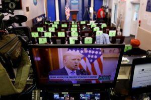 Tổng thống Trump không nhắc tên ông Biden trong bài phát biểu chia tay Nhà Trắng