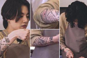 Knet chỉ trích Jungkook (BTS) là 'côn đồ' sau khi lộ chi chít hình xăm trên tay