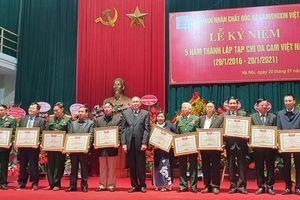 Dấu ấn sau 5 năm thành lập của Tạp chí Da cam Việt Nam