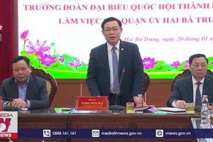 Phát triển quận Hai Bà Trưng (Hà Nội) trở thành quận kiểu mẫu