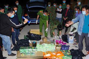 Đồng Tháp: Bắt giữu vụ vận chuyển gần 90kg ma túy từ Campuchia về Việt Nam