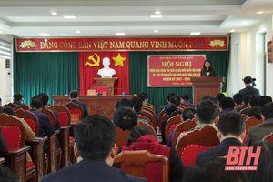 Huyện Vĩnh Lộc triển khai công tác bầu cử đại biểu Quốc hội khóa XV và HĐND các cấp nhiệm kỳ 2021-2026