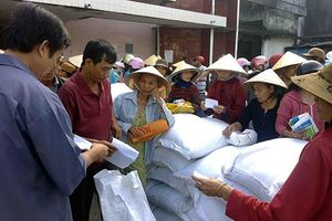 Hỗ trợ gạo cho huyện Mường Lát để thực hiện công phát triển rừng