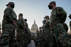 Hàng loạt lính Vệ binh Quốc gia bị loại khỏi nhiệm vụ bảo an cho lễ nhậm chức tổng thống